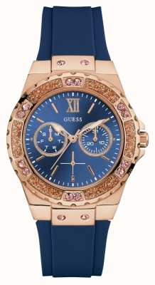 Guess Womens Limelight Sports Watch Blue W1053L1