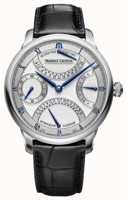 Maurice Lacroix MASTERPIECE DOUBLE RETROGRADE Mens Leather Watch MP6578-SS001-131-1