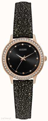 Guess Womens Chelsea Round Rose Gold Watch W0648L22