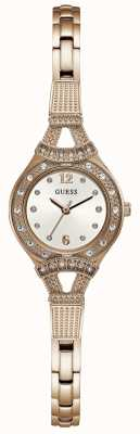 Guess Womens Madeline Rose Gold Tone Jewellery Watch W1032L3