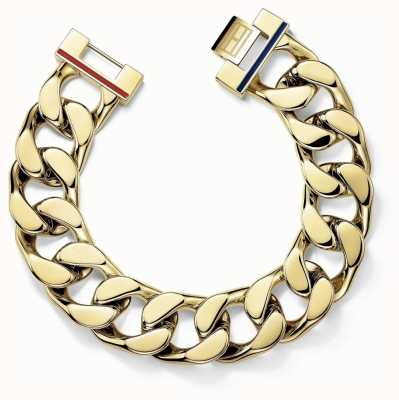 Tommy Hilfiger Womens Chunky Gold Plated Bracelet 2700702