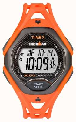 Timex Mens Ironman Sleek 30 FS Orange TW5M10500