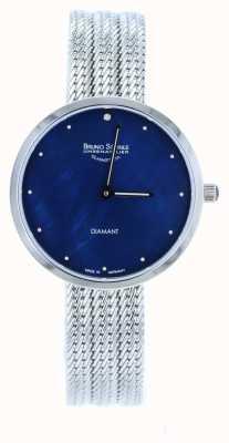 Bruno Sohnle Nofrit 34mm Stainless Steel Mesh Watch 17-13171-350