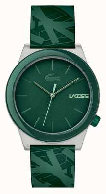 Lacoste Mens Motion Watch Green Silicone 2010932