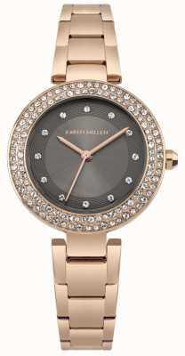 Karen Millen Mink Sunray Dial With Silver Stainless Steel Bracelet KM164ERGM