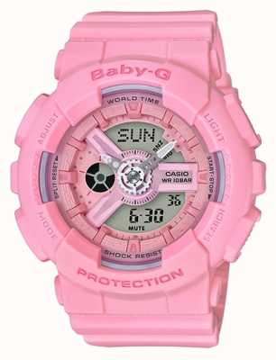 Casio Womans Baby-G Chronograph Alarm BA-110-4A1ER