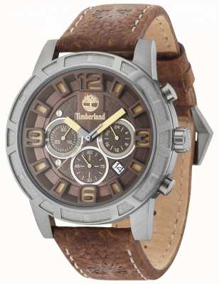 Timberland Maynard Brown Multi Dial Brown Leather Strap 15251JSU/12