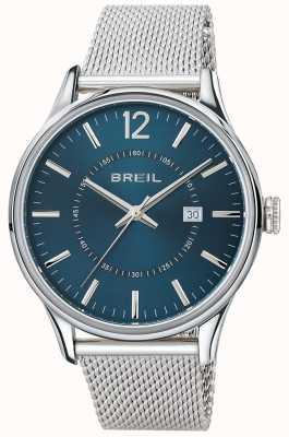 Breil Contempo Stainless Steel Blue Dial Mesh Bracelet TW1560
