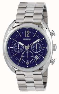 Breil Beaubourg Stainless Steel Chronograph Blue Dial TW1665