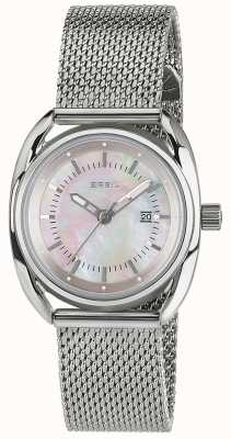 Breil Beaubourg Stainless Steel Pink Mother Of Pearl Dial TW1680