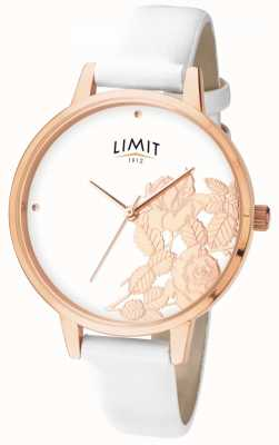 Limit Womens Flat Shine White Floral Dial 6290.73