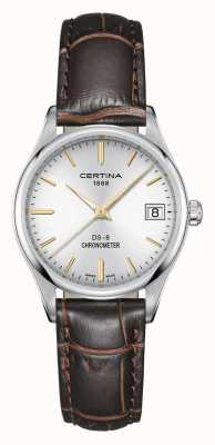 Certina Womens Ds-8 Quartz Chronometer Watch C0332511603101