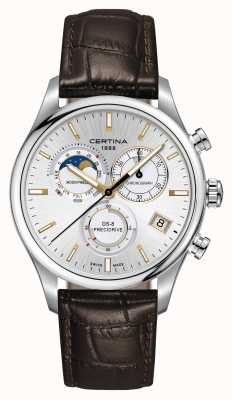 Certina Mens Ds-8 Precidrive Moonphase Chronograph Watch C0334501603100