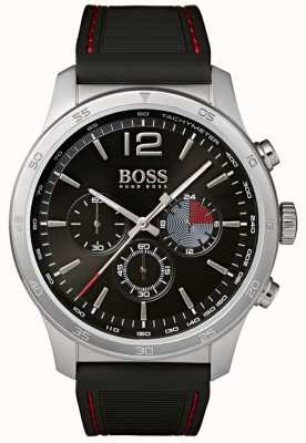 BOSS Mens Professional Chronograph Watch Black 1513525