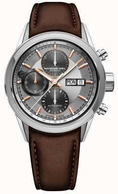 Raymond Weil Mens Freelancer automatic chronograph watch 7731-SC2-65655