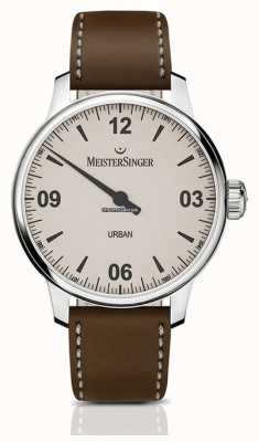 MeisterSinger Urban Tobacco Leather Strap UR913