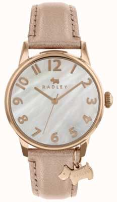Radley Ladies 36mm Case White Dial With Dog Charm RY2660