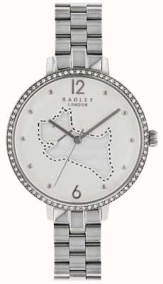 Radley Ladies Silver 36mm Case Silver/White Dial# RY4339