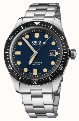 Oris Divers Sixty-five Automatic Stainless Steel Blue Dial 01 733 7720 4055-07 8 21 18