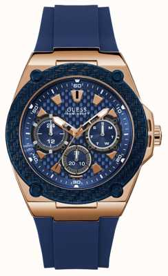 Guess Legacy Mens Sport Multi Rose Gold Round W1049G2