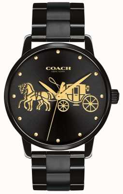 Coach Womens Grand Black Case & Bracelet 14502925