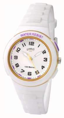 Limit Kid's Watch White Dial and Silicone Strap 5590.67