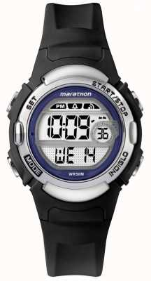 Timex Marathon Black Rubber Watch TW5M14300