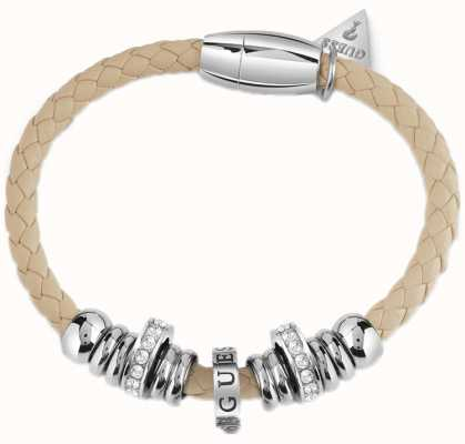 Guess Long Island Nude Bracelet And Beads UBB85174-L