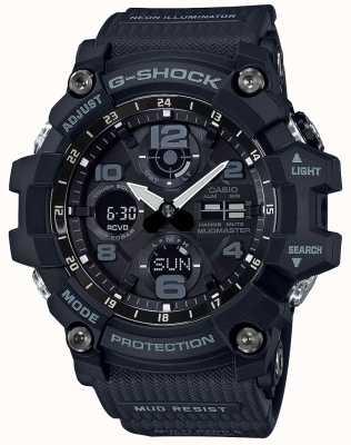 Casio G-Shock Mudmaster Waveceptor Black GWG-100-1AER