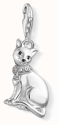 Thomas Sabo Siamese Cat Sterling Silver Charm 1511-041-25