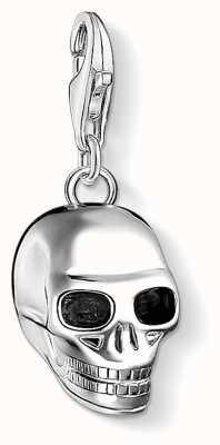 Thomas Sabo Skull Sterling Silver Charm 1548-637-21