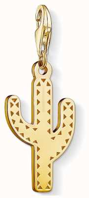 Thomas Sabo Cactus Gold Sterling Silver Gold Plated 1680-413-39