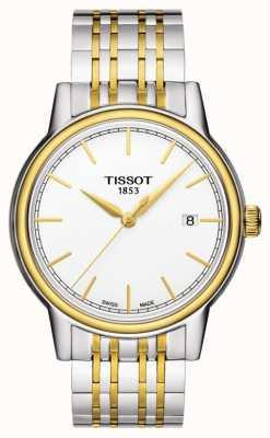 Tissot Carson Mens Quartz Two Tone Swiss Made Date T0854102201100