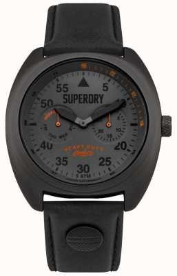 Superdry Scout Aviator Date & Day Display Black Strap SYG229BB
