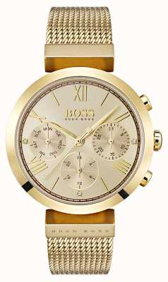 Hugo Boss Ladies Multifucntion Classic Sport Gold Day & Date Display 1502425