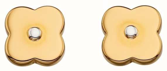 Orla Kiely Gold Pl Shadow Flower Ear E5476