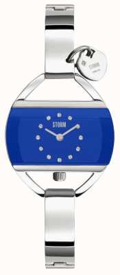 STORM Temptress Charm Lazer Blue Stainless Steel 47013/B