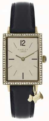Radley Womens Primrose Hill Watch Black Leather Strap RY2534