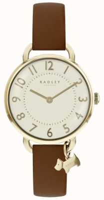 Radley Womens Southwark Park Watch Brown Leather Strap RY2546