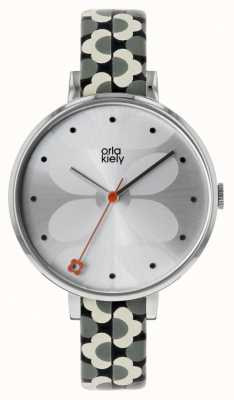 02f4bf245 Hugo Boss Womens Eclipse Watch White Leather Buckle 1502405 - First ...