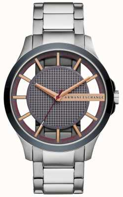 Armani Exchange Mens Hampton Stainless Steel Strap AX2405