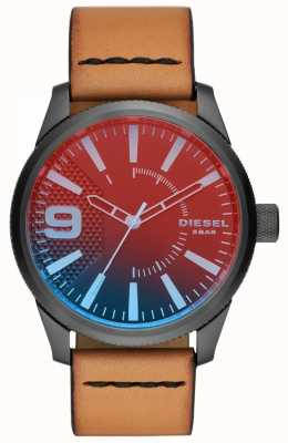Diesel Mens Rasp Nsbb Leather Strap DZ1860