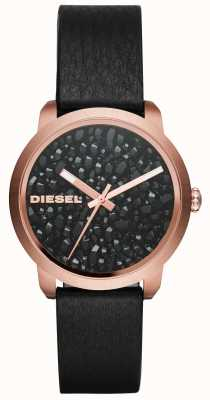 Diesel Womens Flare Rocks Leather Strap DZ5520