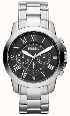 Fossil Mens Grant Stainless Steel Strap FS4736IE