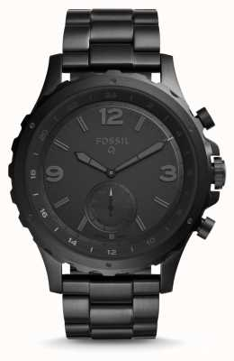 Fossil Mens Q Nate Stainless Steel Strap FTW1115