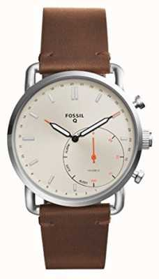 Fossil Mens Q Commuter Leather Strap FTW1150