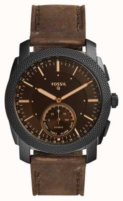Fossil Unisexs Q Machine Leather Strap FTW1163