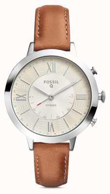 Fossil Womens Q Jacqueline Leather Strap FTW5012