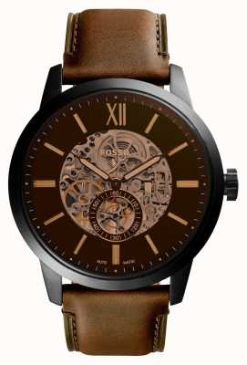 Fossil Mens 48Mm Townsman Leather Strap ME3154