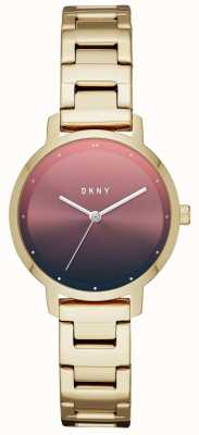 DKNY Womens The Modernist Stainless Steel Strap NY2737